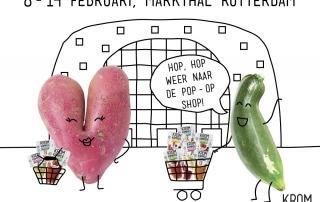 De Kromkommer Pop-Op Shop is terug: 8-14 februari Markthal Rotterdam