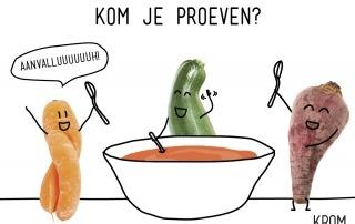 Soepproevers gezocht!