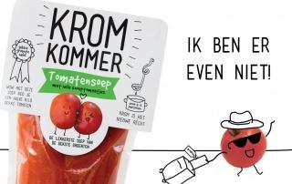 Tomatensoep met snoeptomaatjes is er even niet