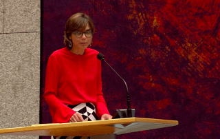 Carla Dik-Faber dient KromMotie in