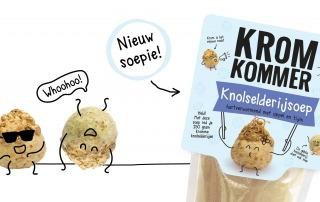 Nieuw: Kromkommer Knolselderijsoep!