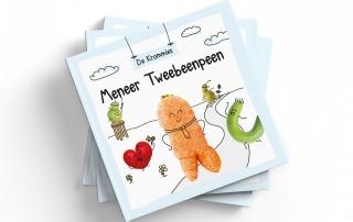 Kinderboek over Meneer Tweebeenpeen als middel tegen voedselverspilling